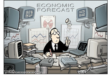 The Unassuming Economist   First, let's shoot all the forecasters