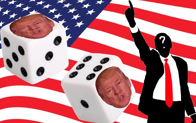 trump dice